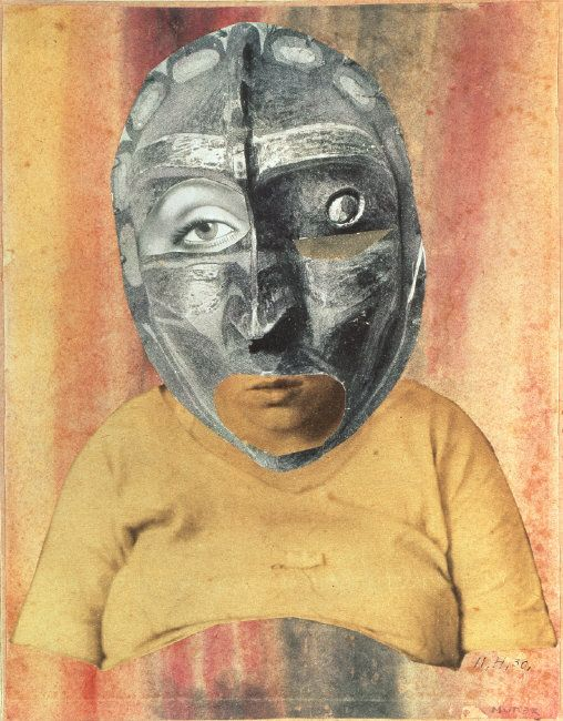 Hannah Hoch Mother. 1925-26. Watercolor and photograph collage on gray paper, 41 x 35 cm. Photo: Peter Willi. Image licenced to Christine Kuan OXFORD UNIVERSITY PRESS by Christine Kuan Usage :  - 760 X 650 pixels (Web pages)  © CNAC/MNAM/Dist. Réunion des Musées Nationaux / Art Resource