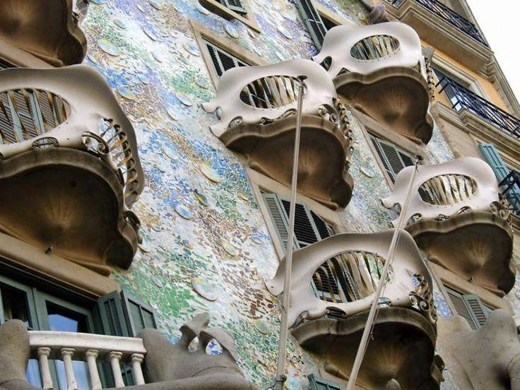 Balcon la Casa Batllo