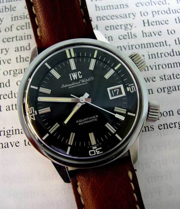 Basel 2008 - Iwc-aquatimer 2008.  Possibly the coolest vintage dive watch around.