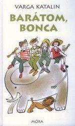Barátom, Bonca  http://naplokonyv.hu/baratom-bonca  Képzeld el, hogy a barátaiddal alapítasz egy felfedező csoportot, megtervezitek az afrikai Viktória tó lecsapolását, a sárkánycsontok felkutatásást, és felfedeztek egy üvegtetőt amit a föld bolygó fölé tartva megakadáylozza az esőt. Na erről szól a Boncaság. Mert Boncának lenni kiváltságos dolog.  www.naplokonyv.hu