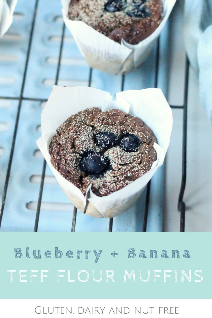 These nutritious muffins are nut free making them the perfect lunch box snack!