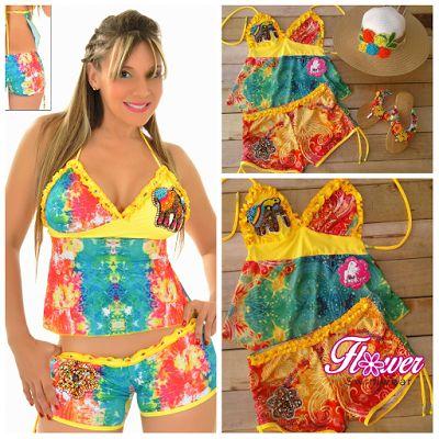 FLOWER SWIMWEAR: COLECCION LOTO, una opción para el verano que te h...