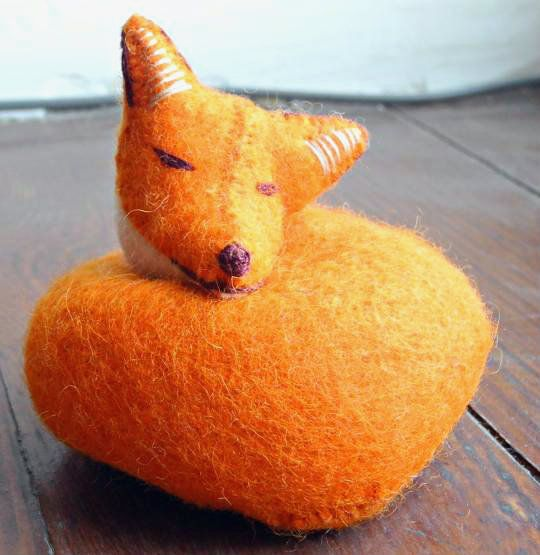 GlobeIn: Handmade Fox Toy From Felt #globein