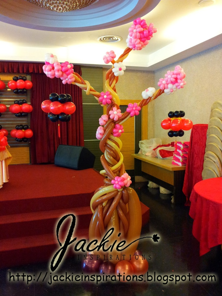 34 best cherry blossom decoration images on pinterest cherry balloon decorations for weddings birthday parties balloon sculptures in kuching and sibu sarawak junglespirit Choice Image