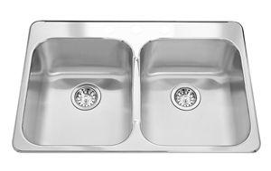 Kitchen // Kindred QDL2031/7 Topmount Kitchen Sink