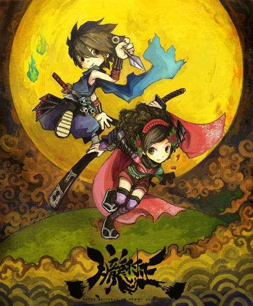#Muramasa The Demon Blade via Max-Shrimpball #Wii #Cute #Ninja