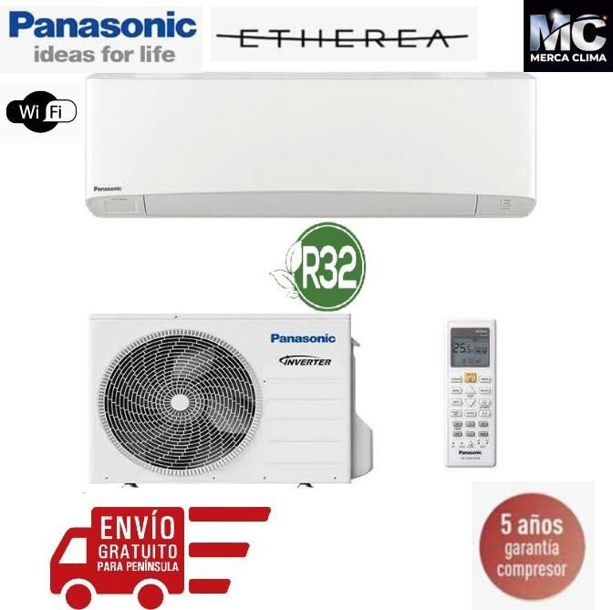 Panasonic Kit Z35 Vke Etherea Blanco Mate 1x1 En 2020 Ahorro De