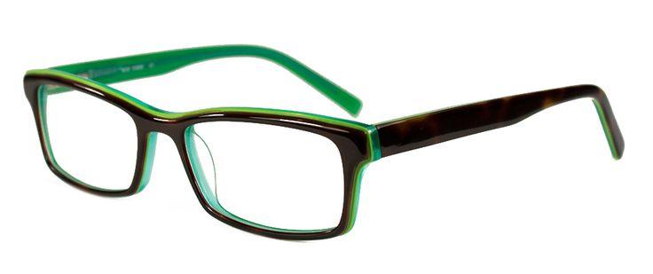 ICE CREAM 8959 DEMI BROWN/GREEN | Vogue Optical - 2nd Pair Free - Designer Glasses, 2 Year Guarantee