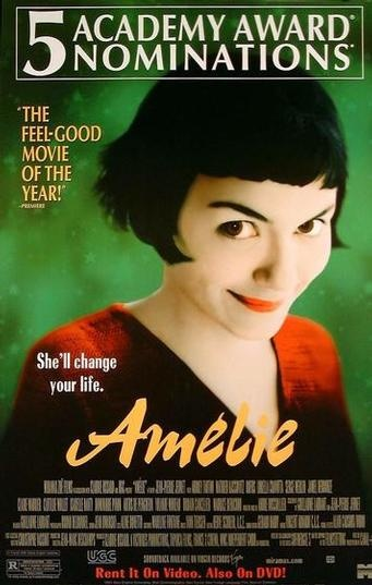 Amelie. My favorite movie of all time.