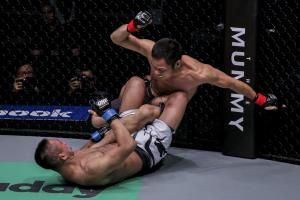Chen Lei has eyes set on gold as he exemplifies indomitable spirit in ONE Championship