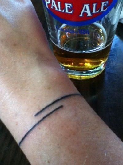 #lines #minimalism #tattoo