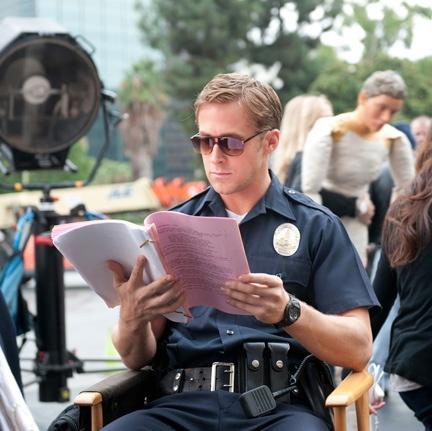 Cop uniform? *swoon Ryan Gosling #Drive