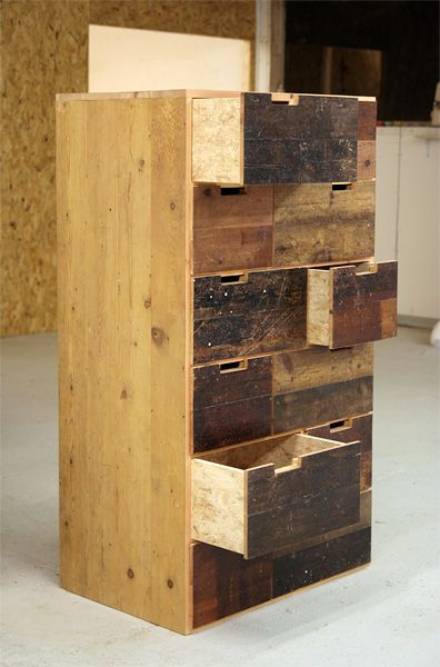 Floorboard Chest of Drawers - Tom Robinson Handmade Furniture from Brighton…