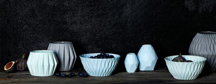 Porcelain by Nina Meldgaard Studio. www.ninameldgaard.dk