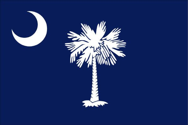South Carolina flag works perfectly with the navy and white theme- would love to integrate it into the wedding somehow- on invitations? or maybe little flags on top of cupcakes?