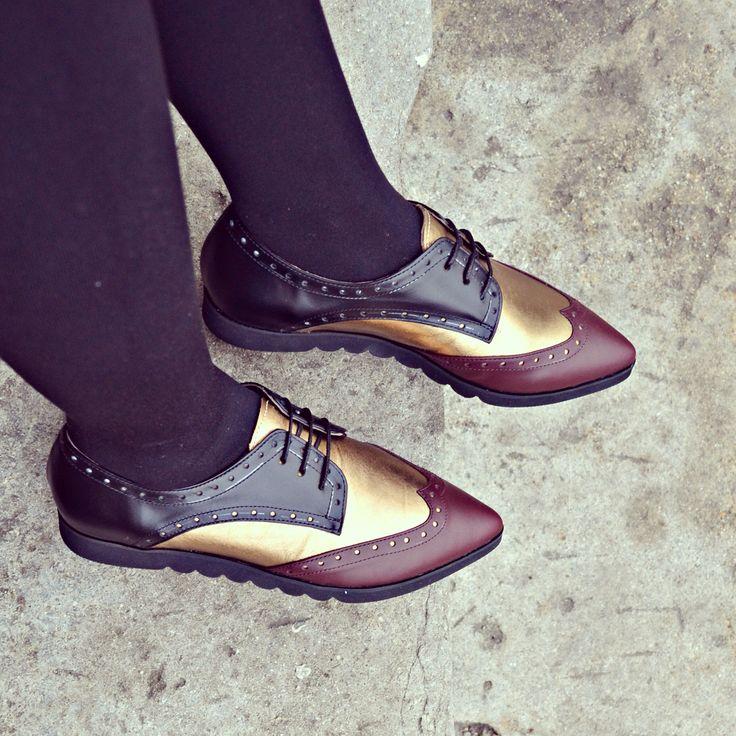 #the5thelementshoes #rosettishowroom #streetstyle #flatforms #fallwinter