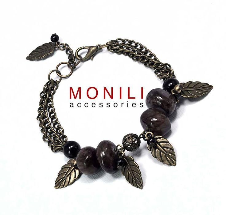 Brown Multi Chain Bracelet BC-007, Gelang Monili dengan harga Rp 25.000,- dari toko online Monili Accessories.