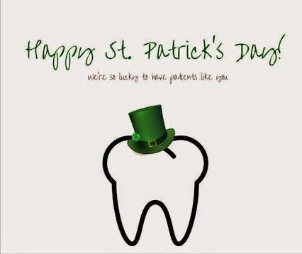 Happy St. Patrick's Day! We're so lucky to have patients like you. #AhwatukeeDentist #HowardFarran #TodaysDental #PhoenixDentist