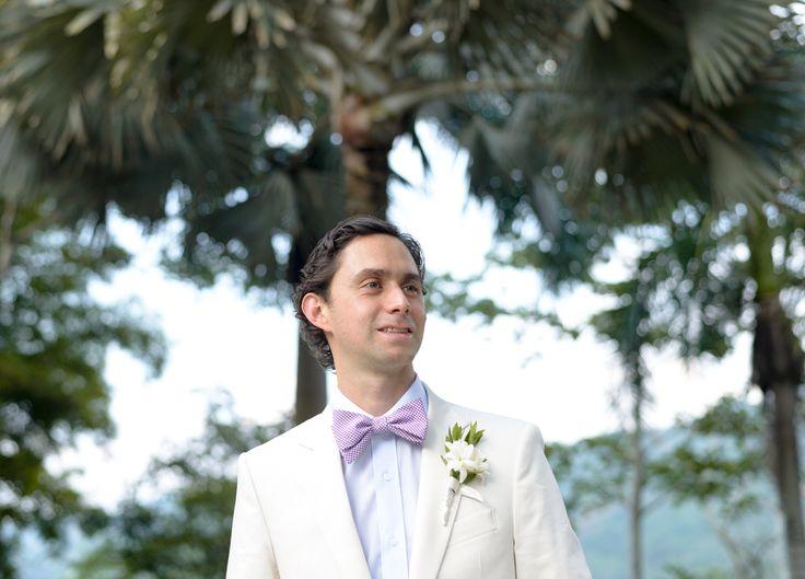 El novio, Juan Camilo antes de ver a Ana.