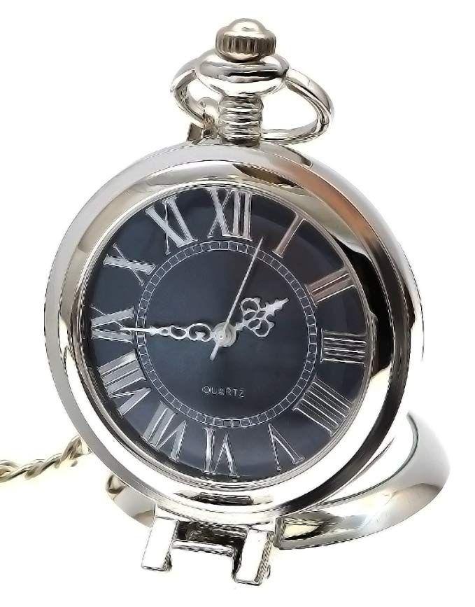 2b6c8115523d Vintage Quartz Pocket Watch with Chain Review