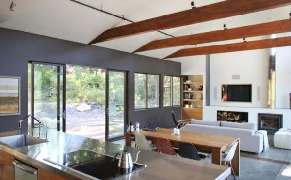 1000 images about una casa de madera californiana on for Casas de madera madrid
