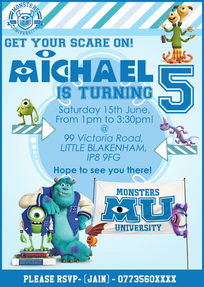46 best Personalised Party Invitations images on Pinterest | Php ...