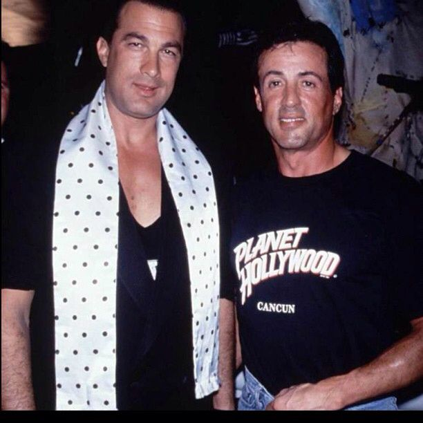Sly and steven seagal