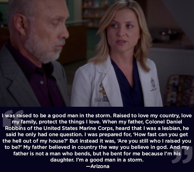 "If you give people a chance, they may surprise you. | 23 Life Lessons We Learned From ""Grey's Anatomy"""