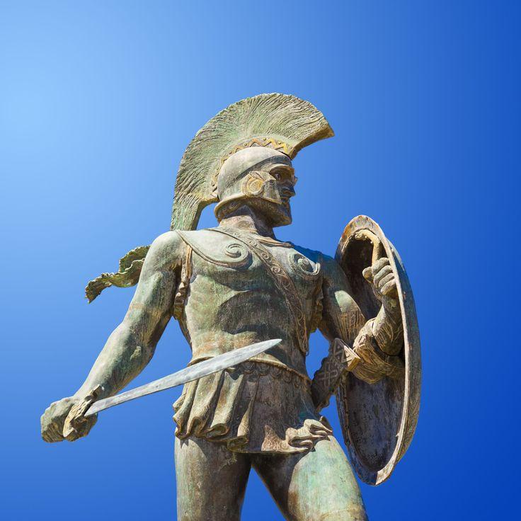 sparta | King Leonidas Statue Sparta Greece 2048 x 2048 iPod 3 wallpapers ...