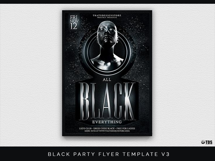 Best  All Black Party Ideas On   Silvester Deko