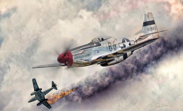 Авиации цифровое искусство - бесстрашный Питер Chilelli