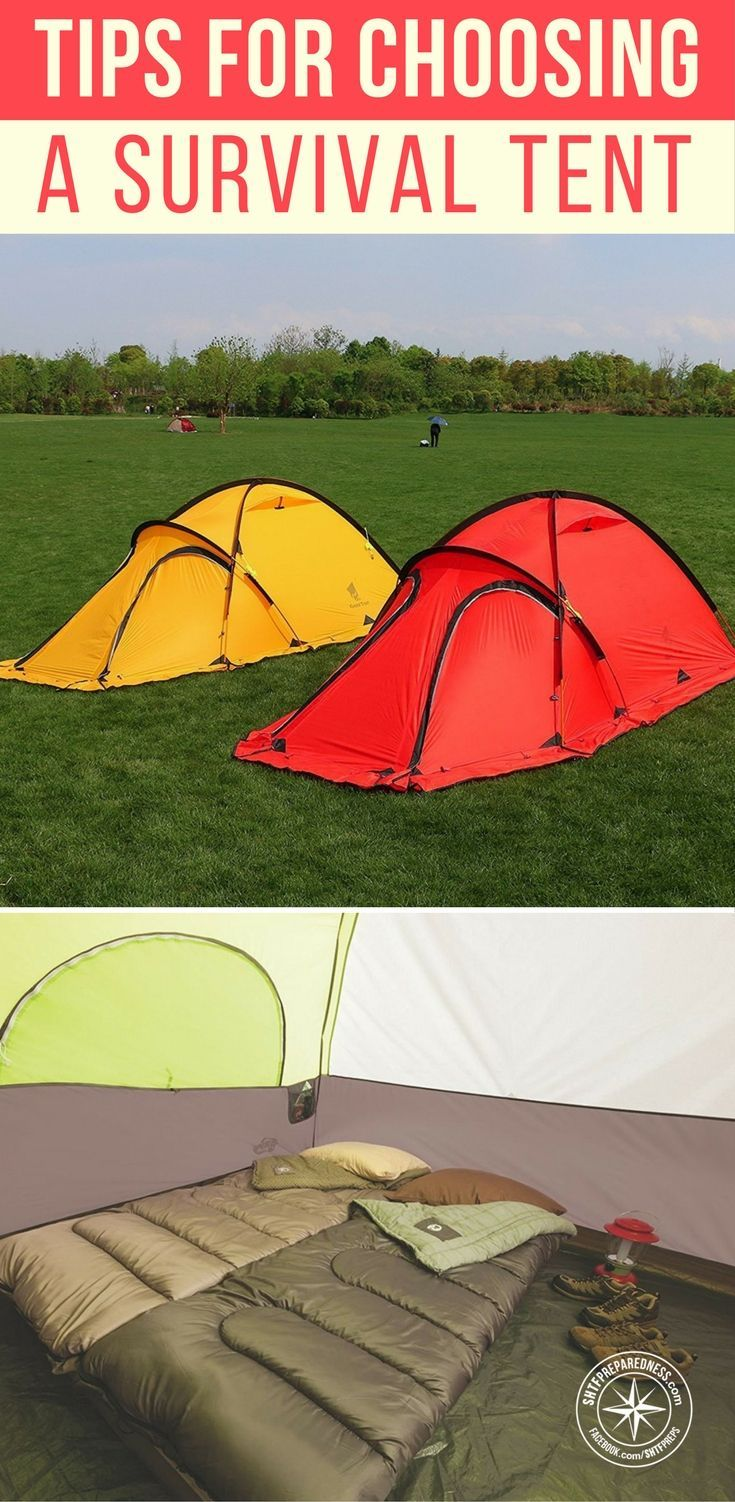 Tips For Choosing A Survival Tent For Your Bug Out Plan - You should start off with this question as it will save you a lot of headache down the road. Figure out the proper answer for it if you plan to carry your tent for 20 miles or more. #survival #bugout #tent