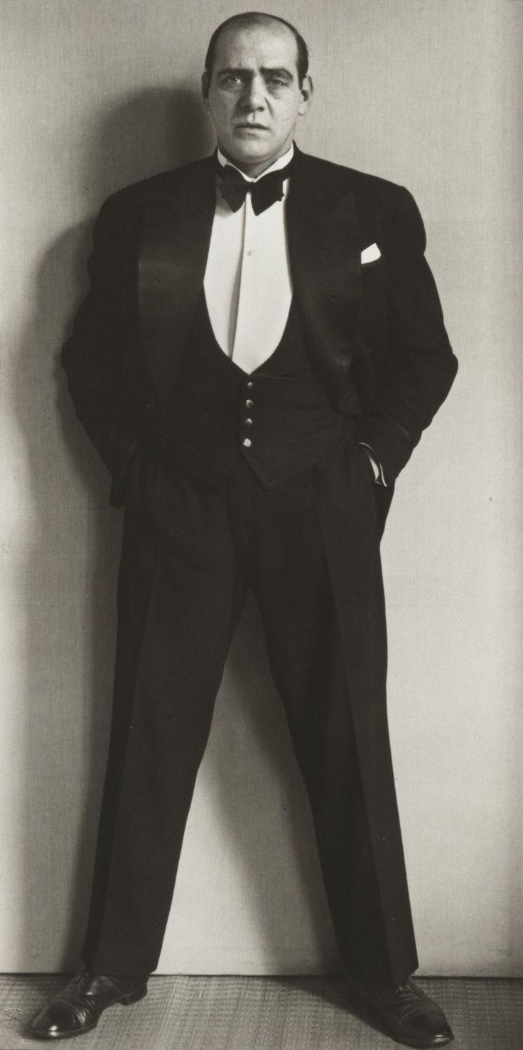 August Sander. Compère. 1930.