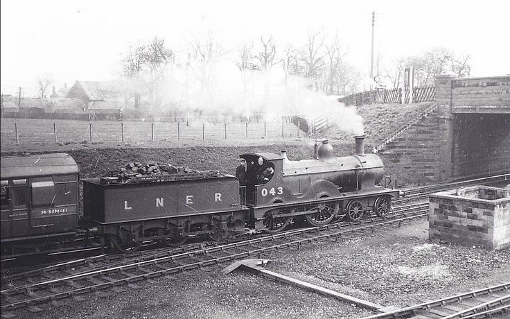 Melton Constable c1939 Johnson Class engine courtesy Norwich Orbital Railway FB page