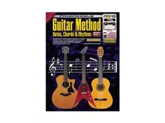 Guitar Method Book 1: Notes, Chords and Rhythms - CD, 2 x DVD & DVD Rom CP11803. An indispensable self-teaching method including 26 easy-to-follow lessons introducing note reading, chords and rhythms