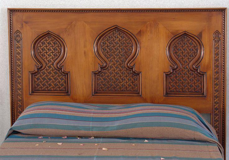 cabecero_madera_tallada_arabe_marruecos_003.jpg (1546×1084)