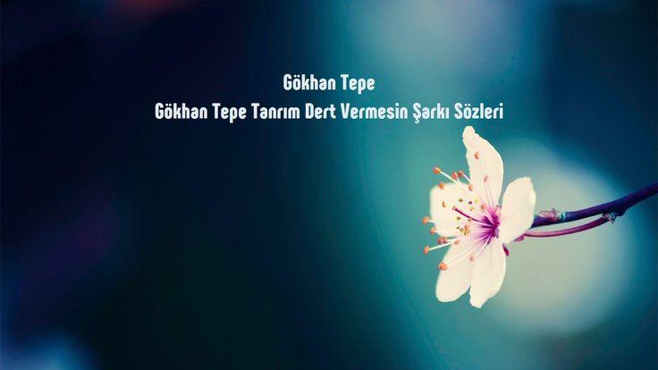 Gökhan Tepe Tanrım Dert Vermesin sözleri http://sarki-sozleri.web.tr/gokhan-tepe-tanrim-dert-vermesin-sozleri/