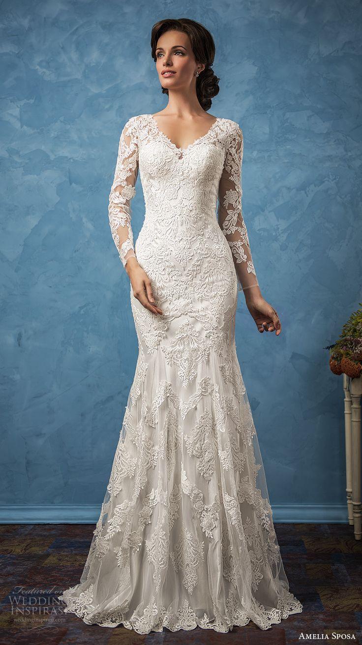 "Amelia Sposa 2017 Wedding Dresses — ""Royal Blue"" Bridal Collection"