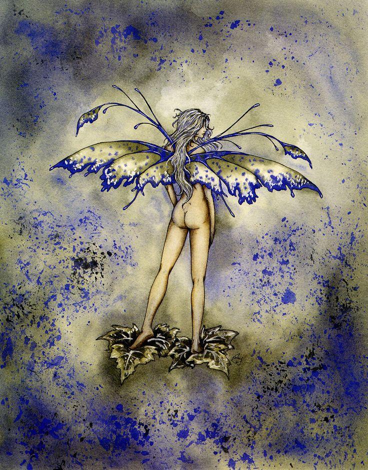 Amy Brown green faery