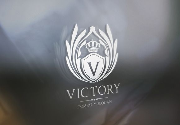 Check out Victory Logo Template by Super Pig Shop on Creative Market