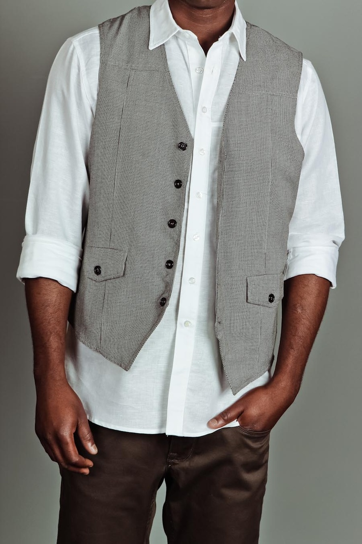 Vests are just so classy