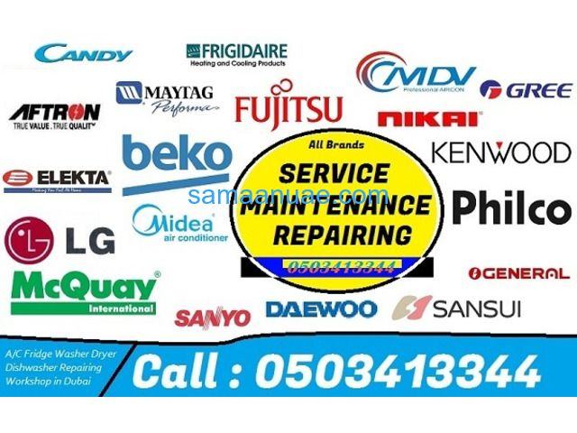 Air Conditioner Ac Refrigerator Service Repair Maintenance Installation In Dubai Refrigerator Service Air Conditioner Repair Repair And Maintenance