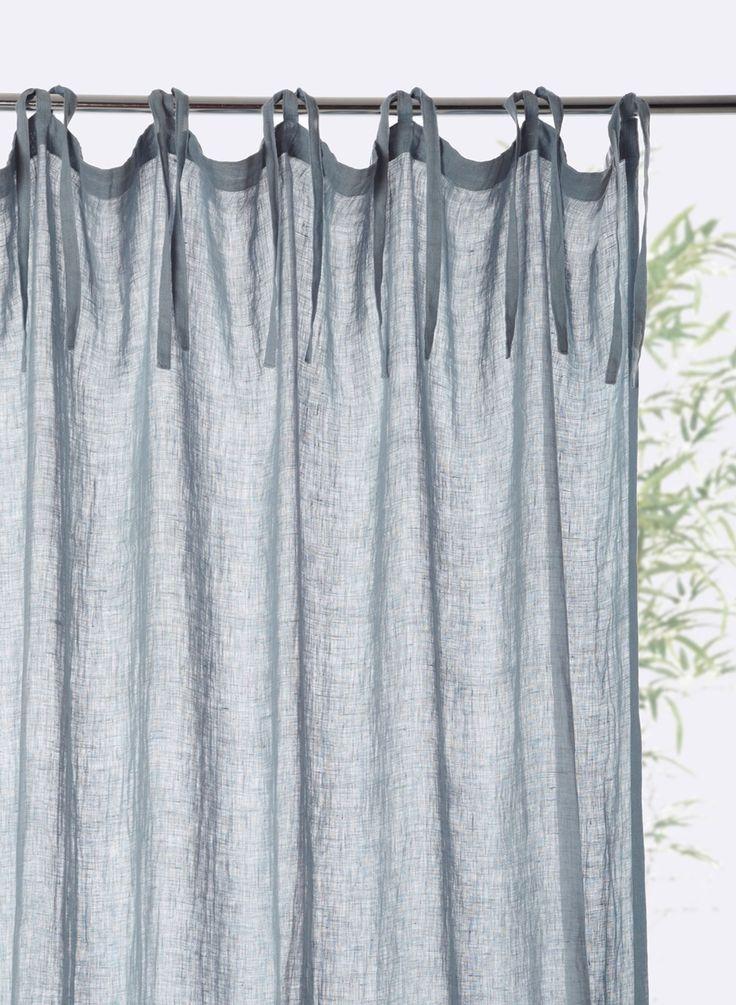les 25 meilleures id es de la cat gorie rideaux en lin sur pinterest rideau en lin rideaux de. Black Bedroom Furniture Sets. Home Design Ideas