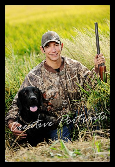 Hunting Senior Picture Ideas | CReative Portraits is an awesome senior portrait and family ...