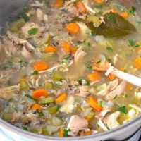 Chicken Vegetable Soup With Rice | Dr. Mark Hyman