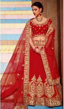 Red Color Silk Embroidery Designer A Line Lehenga Choli | FH583486043 Follow us @heenastyle #bride #indianwedding #brotherofthebride #bridesman #indianbride #lehenga #bridallehenga #bridaljewelry #bridalfashion #weddingfun #weddingstyle #weddingfashion #weddingsutra #bridalwear #designerlehenga #designerwear #newarrival #designer #indianfashion #indianweddings #mehendi #wedding #londonfashionweek #dubaiethnic #womenfashion #trendy #heenastyle