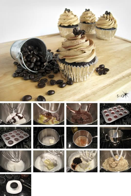 kahlua coffee cupcakes... The BEST! / Foodimentary Find