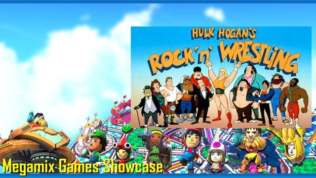 During the 1980's and 1990's, every Saturday was called Saturday Morning Cartoon, cartoons in the morning on prime television from 7am to 12 noon, and one of them was Hulk Hogan's Rock 'N' Roll Wrestling.  It features some of the cast from the WW*, like Hulk Hogan, Andre the Giant, Roddy Piper, and more.  SO check this live clip from the WWE Network.