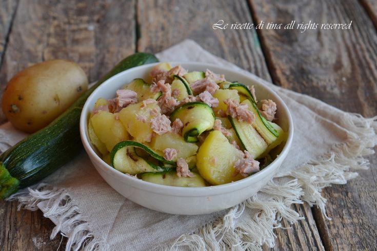 Insalata zucchine e patate