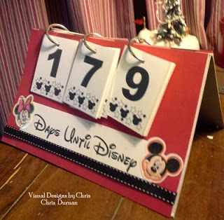 Disney countdown & printable